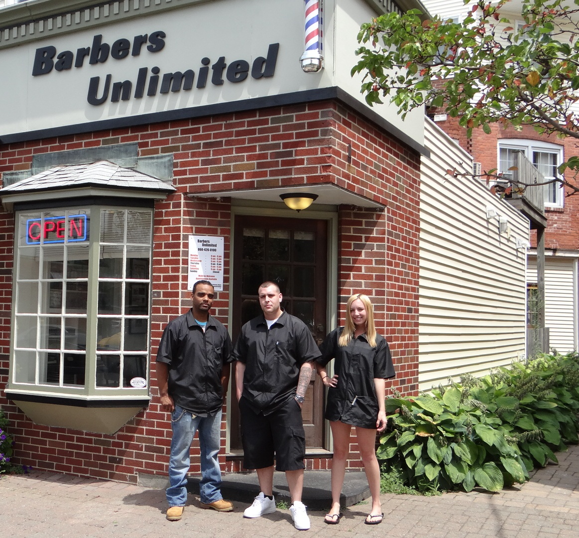 Barber Unlimited : The Barber Shop Team at Barbers Unlimited in Southington CT 06489