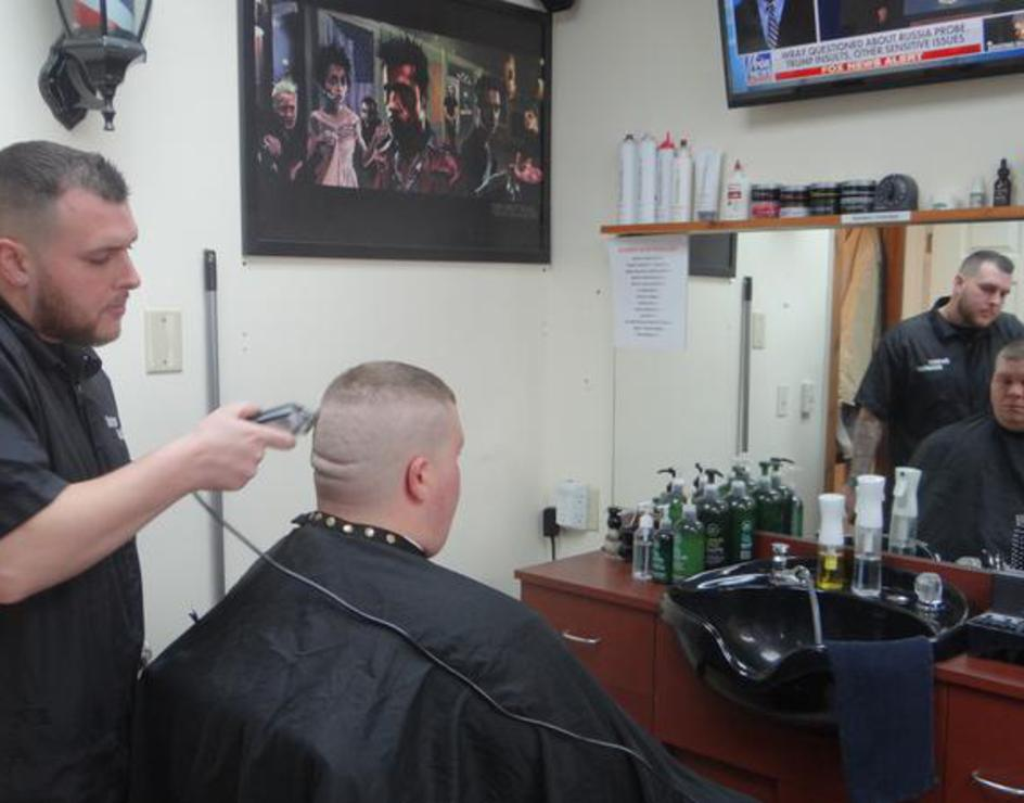 The Barber Shop Team at Barbers Unlimited in Southington CT 06489