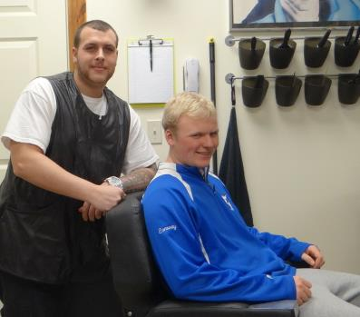 Southington Barber Shop features Patrick Brennan